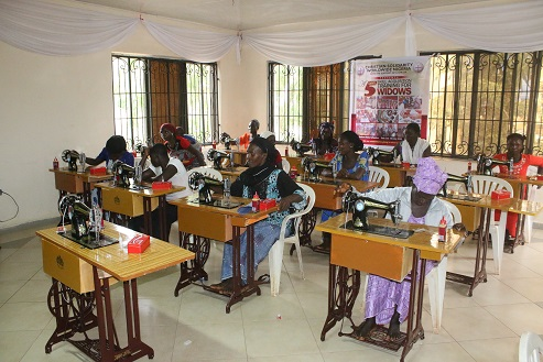 Skills acquisition training for 30 widows and 2 orphans in Kafanchan