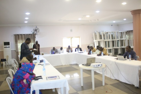 Capacity building for State Co-ordinators