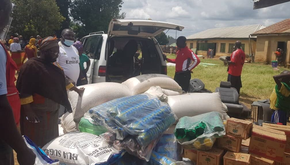 CSWN gives aid to victims of armed Fulani attacks in Southern Kaduna